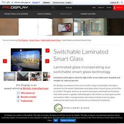 Switchable Laminated Smart Glass