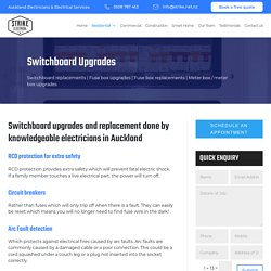 Switchboard Upgrades in Auckland NZ