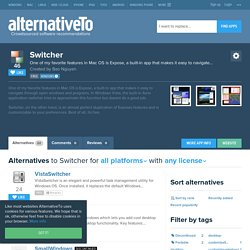 Switcher Alternatives and Similar Software