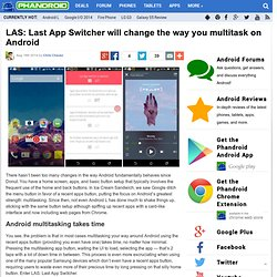 LAS: Last App Switcher will change the way you multitask on Android