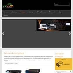 Switchvox Phone System - DVCOM Technology