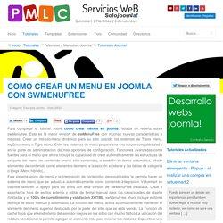Como crear un menu en joomla con swMenuFree - Tutoriales Joomla en Español