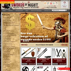 Swords of Might | Real Samurai Swords | Battle Ready Swords