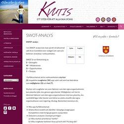 SWOT-analys - KvUtiS