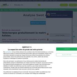 Swot : Analyse Swot Adidas