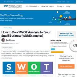 How to Do a SWOT Analysis for Your Small Business