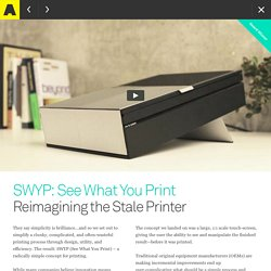 SWYP: See What You Print - Artefact