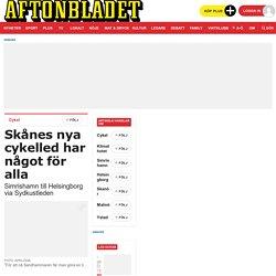 Sydkustleden – cykla genom Skåne på nya leden