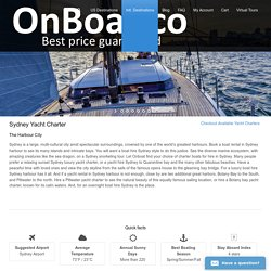Sydney yacht charter and boat rental - Sydney boat hire