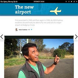Sydney's Future Airport at Badgerys Creek