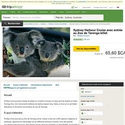 Sydney Harbour Cruise avec entrée au Zoo de Taronga billet