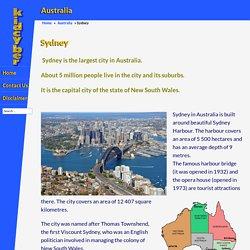 Sydney - kidcyber
