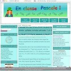 Atelier syllabes initiales périodes 1 et 2