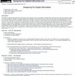 Syllabus / Designing-For-Digital-Fabrication-S11
