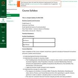 Syllabus for PUBLIC-BU-SampleCourse-BUS500 - Canvas - CSU