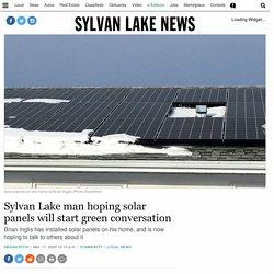 Sylvan Lake man hoping solar panels will start green conversation – Sylvan Lake News