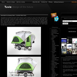 SylvanSport Go Camping Trailer : A Comfort Motor Home