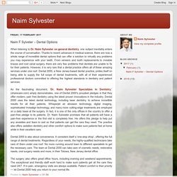 Naim Sylvester: Naim F Sylveter – Dental Options