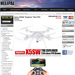 """Syma X5SW """"Explorer"""" Mini FPV Drone"""