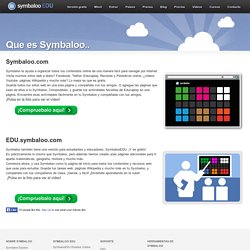 Symbaloo EDU Español - Educacion virtual