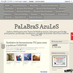 Symbaloo de herramientas TIC para crear y publicar CUENTOS