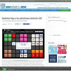 Symbaloo llega a las plataformas Android e iOS