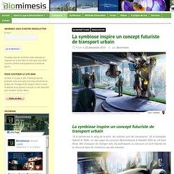 La symbiose inspire un concept futuriste de transport urbain