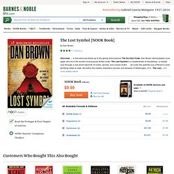 The Lost Symbol, Robert Langdon Series, Dan Brown, (9780385533133) NOOKbook (eBook) - Barnes & Noble
