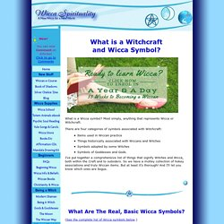 Wicca Symbol & Meanings * Wicca Spirituality