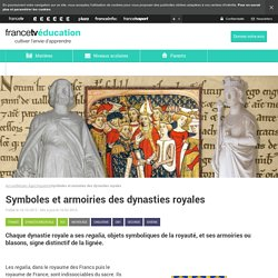 Symboles et armoiries des dynasties royales