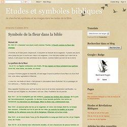 Symbole de la fleur dans la bible