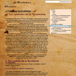 a) Les symboles de la Révolution - La Révolution Française