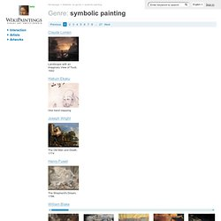 "Genre ""symbolic painting"""