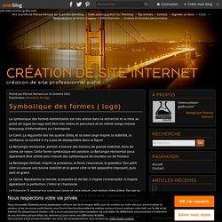 Symbolique des formes ( logo) - création de site internet