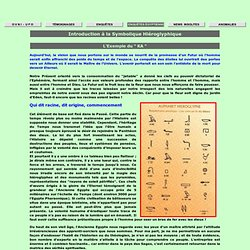 """La symbolique hiéroglyphique : """"KA"""""""