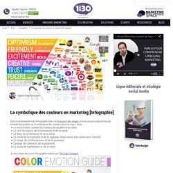 La symbolique des couleurs en marketing [Infographie]