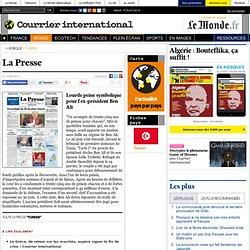 Lourde peine symbolique pour l'ex-président Ben Ali