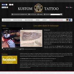 La symbolique des ailes dans le tatouage | Tatouage Paris Kustom Tattoo