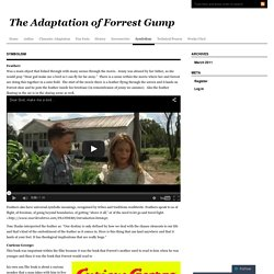 The Adaptation of Forrest Gump