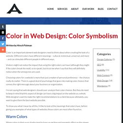 Color in Web Design: Color Symbolism - Addicott Web, Raleigh Web Designer & Raleigh Wordpress Website Designer