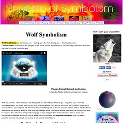 Ancient Mystical Wolf Symbolism and Meaning - Totem Animal Symbols A-Z