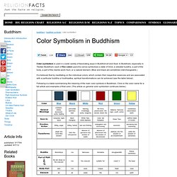 Buddhist Color Symbolism
