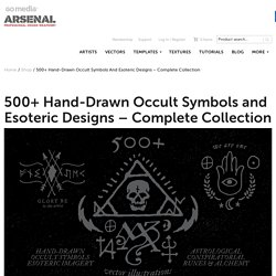 500+ Occult Symbols and Esoteric Designs - Vector Collection