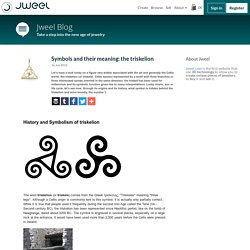 Symbols and their meaning: the triskelion