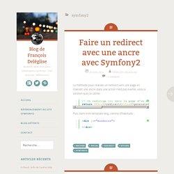 Blog de François Deléglise