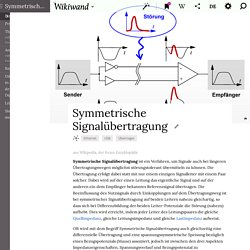 Symmetrische Signalübertragung