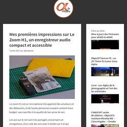 Le Zoom H1 : Un Petit test sympathique de ce formidable enregistreur audio
