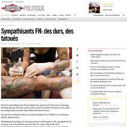 Sympathisants FN: des durs, des tatoués