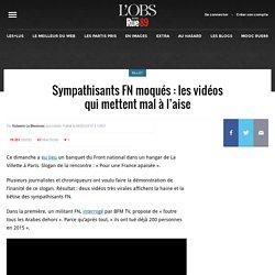 Sympathisants FN moqués: les vidéos qui mettent mal à l'aise