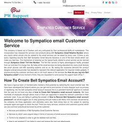 Sympatico email Customer Service Phone Number